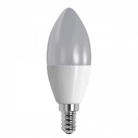 Лампа LED С37 7,5W E14 4200K свеча FOTON