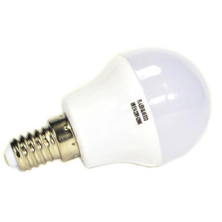 Лампа LED GL45 ECO 6W E14 6400K FOTON
